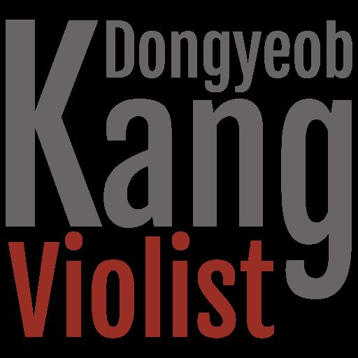 Violist DongYeob Kang